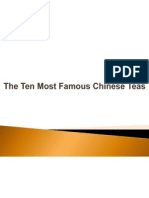 The Ten Most Famous Chinese Teas