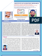 Ppisr Newsletter Jan-june 2012