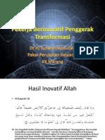 Pekerja Berinovatif Penggerak Transformasi