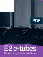 E2 e-tubes - protection against dirt and debris