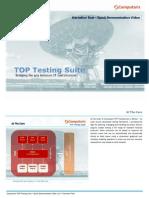 Computaris - Top Testing Suite (Quick Demonstration)