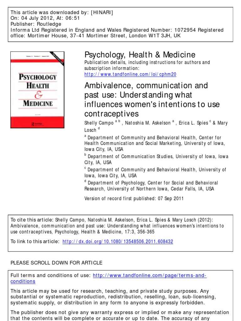 example of article essay about health