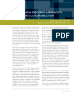 2010 12 Applying a Risk Budgeting Approach to Active Portfolio Construction