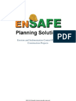 Erosion and Sedimentation Control Plan on Construction Projects