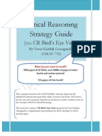 Critical Reasoning Strategy Guide - by Veera Karthik