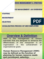 Chapter 5 - Human Resources Management and Staffing