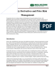 Commodity Derivatives and Price Risk Management