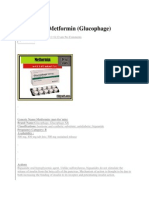Drug Study Metformin