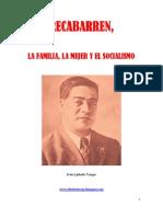 Recabarren, La Familia, La Mujer y El Socialismo.
