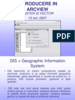 Introducere in Arcgis