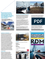 Brochure Kenniscentrum Sustainable Solutions RDM