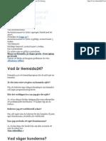 Gör en hemsida med Hemsida24 - Hemsideprogram för företag