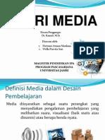 Teori media, Desain Pembelajaran (Instructional design)