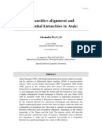 Francois, Alexandre – Ditransitive alignment and referential hierarchies in Araki