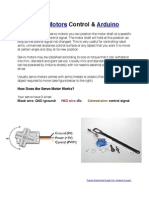 Introduction to Servo Motors & Arduino