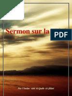 Sermon sur la piété