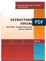 Monografia de Estructura Social