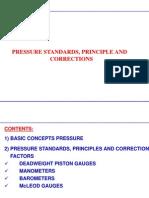 Pressure Standards