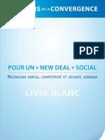 """Ateliers de La Convergences, Pour un """"New deal social"""", Livre Blanc"""