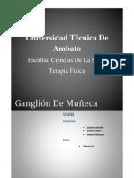 iINFORME GANGLION DE MUÑECA