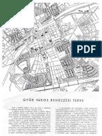 Győr város rendezési terve, 1947