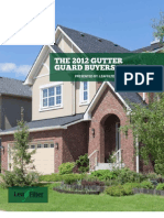 2012 Gutter Guard Buyers Guide by LeafFilter