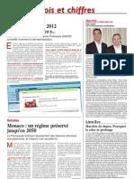 La Tribune Bulletin Côte d'Azur article 4 mai 2012