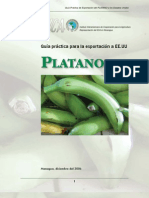 2006. Nicaragua. Guía Práctica para la Exportación de Platano