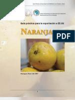 2007. Nicaragua. Guía Práctica para la Exportación de Naranjas