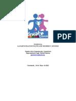 PONENCIA Participacion Mujeres y Jovenes GUATECIVICA