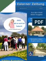 Die Erste Eslarner Zeitung, Ausgabe 07.2012