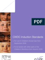 Children's Workforce Development Council Induction Standards