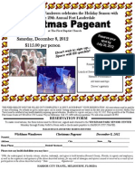 Christmas Pageant 12.08.12