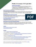 Nieuwsbrief Politie 2.0 9 Juli 2012