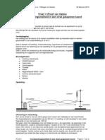 4 Voortplantingssnelheid in Een Strak Gespannen Koord