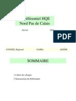Préf HQE _0 Contenu Du référentiel N-PdC2003