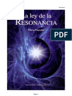 Libro Ley de la  Resonancia...