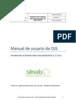 Manual de Usuario OJS