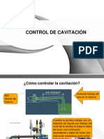 CONTROL DE CAVITACIÓN