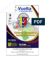 #Ciclismo Etapa 4 Vuelta #Venezuela #VVen