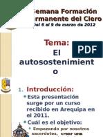 Semana Formación Permanente del Clero Marzo 2012