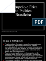 Corrup%E7%E3o e %C9tica Na Pol%EDtica Brasileira
