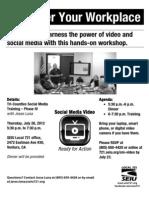 Social Media Training VIDEO