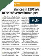 EEFC Account 21 May 12