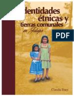 Identidades étnicas y tierras comunales en Jalapa, Claudia Dary