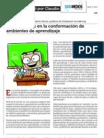 Componentes en La Conformacion de Ambientes de Aprendizaje