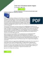 2008_12_21 `Nieuwe Europese Norm Voor CO2 Uitstoot ens