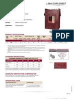 L16H Trojan Data Sheets