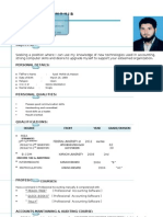 RAHEEL Cv Updated 2012