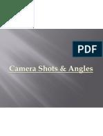 Camera Angles and Shots